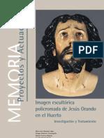 Informe restauración Señor Oración en el Huerto