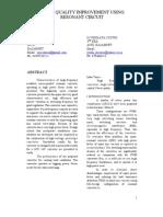 A Paper Presentation On