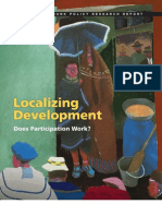 Localizing Development. Does Participation Work?