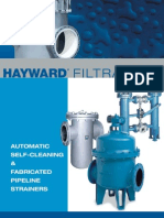 Hayward Automatic & Fabricated Strainers