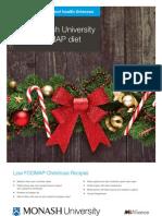 Monash University Low FODMAP Diet Christmas Recipes