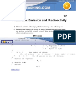 Thermionic Emission and Radioactivity