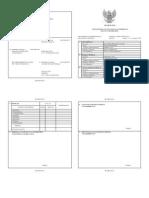 Contoh Format DP3 excel