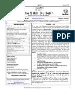 Bulletin 1 2003