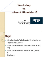 Network Simulator Day-Wise