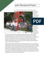 The Manjushri Educational Project Nepal