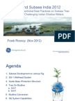 Distribution Shallow Water Development in India