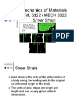 Shear Strain