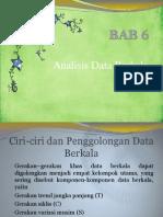 Bab 6 Analisis Data Berkala