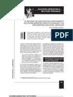 EL RECURSO DE CASACIÓN POR APARTAMIENTO DE LOS PRECEDENTES CONSTITUCIONALES Y LOS PRECEDENTES JUDICIALES LABORALES