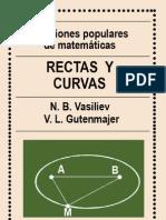 RECTAS Y CURVAS DE VASILIEV