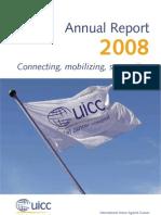 UICC Annual report 2008