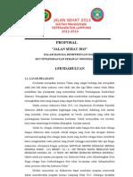 Proposal Jalan Sehat Imkl Fix