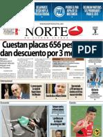Periodico Norte de Ciudad Juárez 3 de Enero de 2013