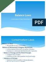 6. Balance Laws Jan 2013