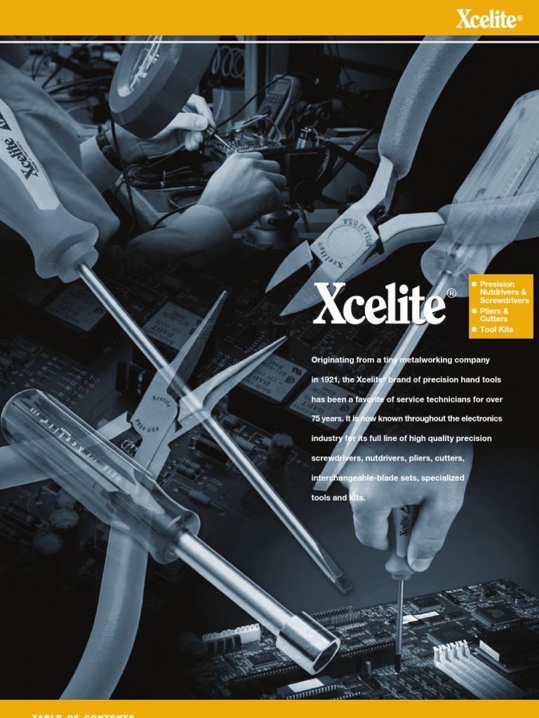 8-1//8-Inch Overall Length 4-Inch Blade Length 1//4-Inch Head Xcelite XST102 Super-Tru Nickel Chromium Steel Phillips Screwdriver