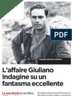 Il libro inchiesta su Salvatore Giuliano uscito grazie ai nuovi documenti - L'Unità 03.01.2013