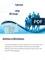 microfinance and self help group