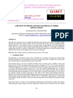 A Review on Phase Change Materials and Their Applications (1)