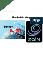 Bharti Airtel & Zain Merger