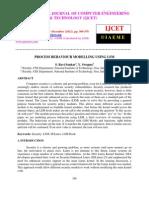 Process Behaviour Modelling Using Lsm
