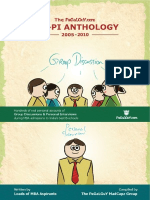 GD-PI experiences of CAT ( Pagalguy )   Dividend   Finance (General)