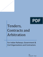 Tenders Contracts & Arbitration