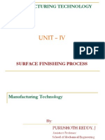 Surface Finishing Process