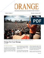 The Orange Newsletter, Volume 2, Number 1. 3 January 2013