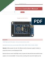 32 Servo Controller Manual