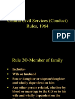 CCS(Conduct) rules, 1964