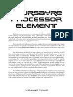 COURSAYRE Processor Element