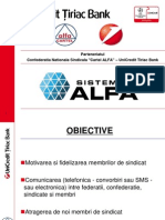 Prezentare Sistemul Alfa 18-XII-2012