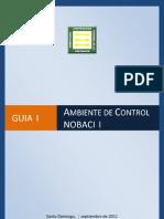 Guía de Ambiente de Control Interno (NOBACI)