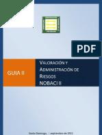 Guía de Valoracion y Administracion de Riesgo (NOBACI)