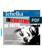 Cover Page Tehelka
