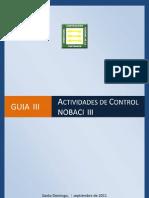 Guía de Actividades de Control (NOBACI)