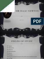 Sir Isaac Newton PPT