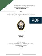 Analisis Indeks Bias Pada Pengukuran Konsentrasi Larutan Sukrosa j2d002177
