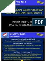 Presentasi Ketum SNMPTN 2013(Ketum Rektor Final Rev Ketum)