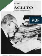Rodolfo Mondolfo - Heráclito, Textos y problemas de su interpretación