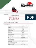 Toyama tcs58x