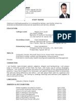 Resume DOPMH