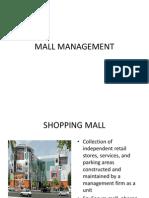 Mall Management Ppt