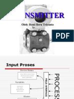 Transmitter and Sensors