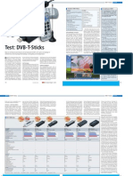 DVB-T Stick Test, COM-Magazin, 12/2005