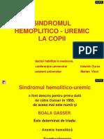 sindromul hemolitico-uremic
