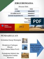 PP Energi Biomassa