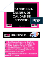 5.0. Calidad de Servicio