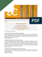Agenda Cultural Ministerio de Cultura Peru - Enero 2013